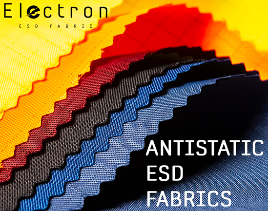 antistatic esd woven knitted fabrics